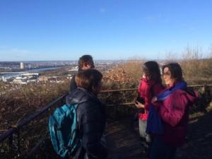 Die arktischen Temparaturen und der schneidende Wind hinderten die Teilnehmer daran, die Schönheit der Landschaft zu genießen.