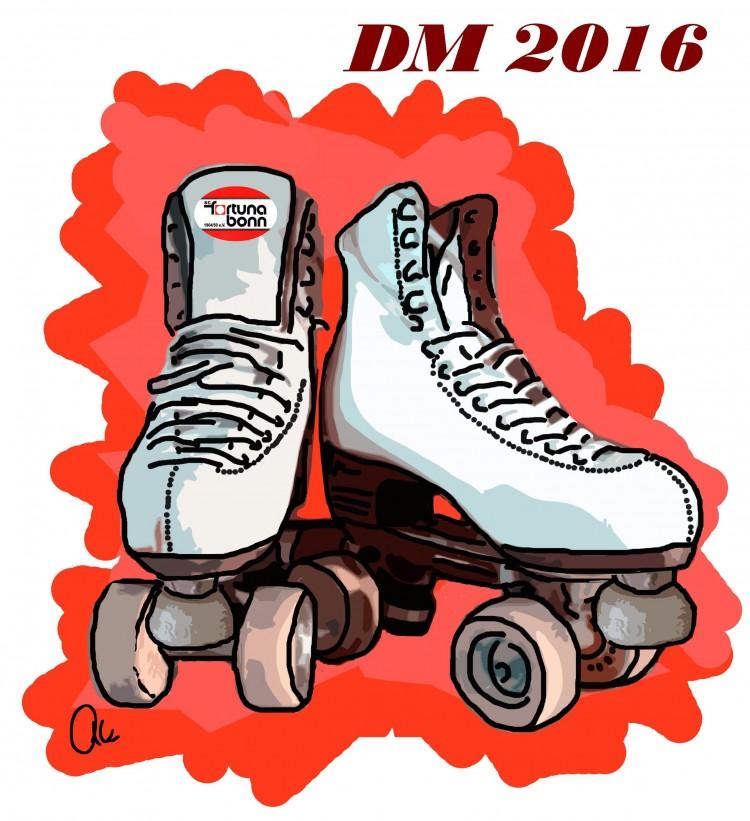 DM 2016 Rolkunstlauf in Wuppretal